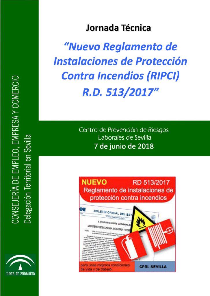 """Jornada Técnica: """"Nuevo Reglamento de Instalaciones de Protección ..."""